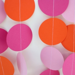 Paper Garland Party Decoration